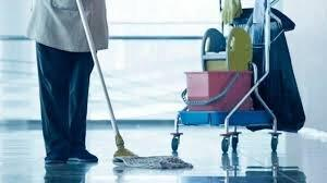 Serviços terceirizados de portaria e limpeza