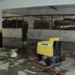 Prestação de serviços de limpeza e conservação